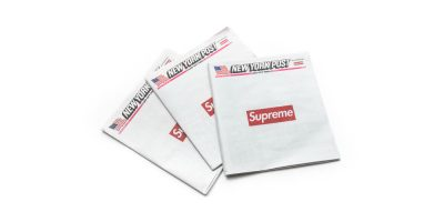 Supreme Turns the New York Post Into a Collector's Item With 1 Ad