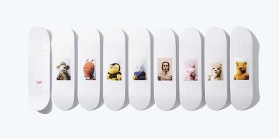 Supreme Releases Mike Kelley Deck Series & Apparel Collection