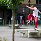 Marcus Shaw Filmed a Part Entirely at Oslo's Teater Plaza
