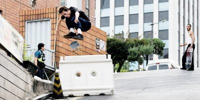 "Grey & Converse Hit South Korea in James Cruickshank's ""Uphill"""