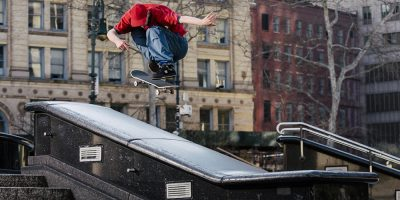 John Shanahan Ollies off a Roof in Bronze's Latest Commercial