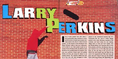 "Mike Sinclair Breaks Out His Larry Perkins Memorabilia for ""Skatehoarders"""