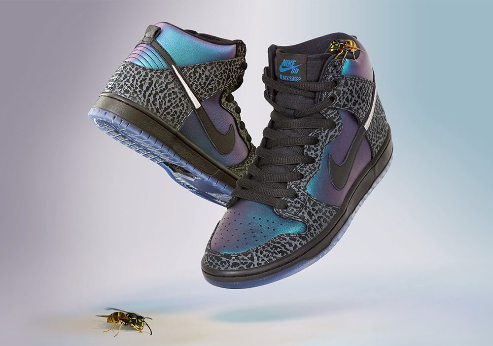 Nike SB s latest Dunk High with North Carolina s Black Sheep is set to  debut on February 15 during All-Star Weekend in Charlotte as a part of SB s  current ... c6ace0186