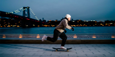 Brad Cromer Takes His New HUF Shoe for a Spin Around NYC