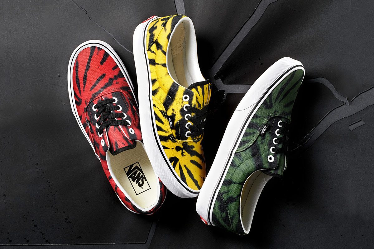 9e2ee685915f81 Vans  Tie-Dye Era Pack Is a Reminder That Winter Is Almost Over ...