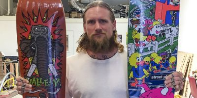 Mike Valley to Release 30-Year Anniversary Barnyard Board