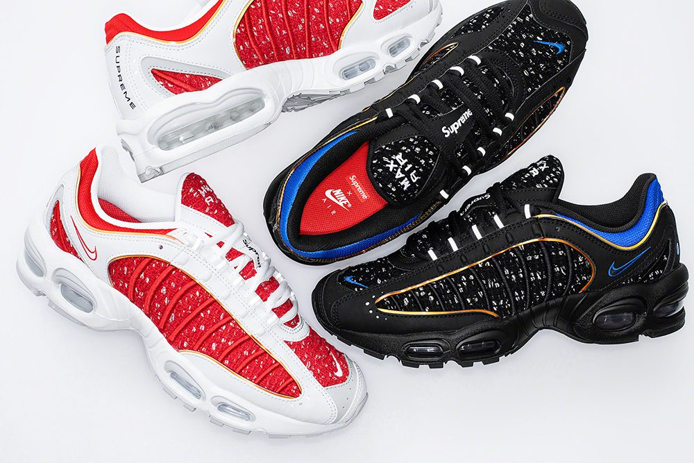 The brand unveiled its take on the Nike Air Tailwind IV this morning.  Available in both black ... c0a67e858e