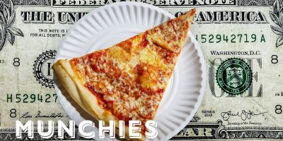 Munchies Examines New York's Dollar Slice on Street Food Icons