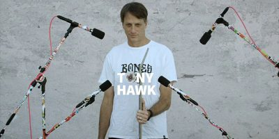 Tony Hawk and BONOMAZE Made a Song From Skate Sounds