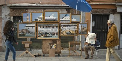 Banksy Strikes Again With Latest Stunt at Venice Biennale