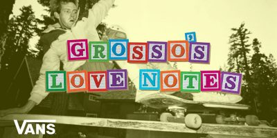 Jeff Grosso Delves Into '80s Vert Ramp Contests in Latest Love Notes
