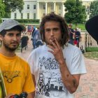 Taji Ameen & Friends Skate the White House in Honor of July 4th