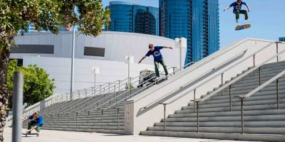 Sebo Walker Brings an NBD to Staples Center in 'Pump on This'