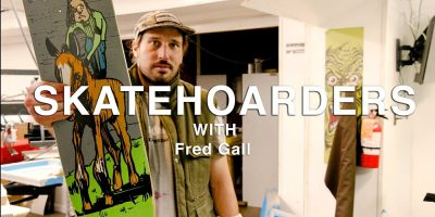 Fred Gall Digs in the Crates on Latest Episode of Skatehoarders