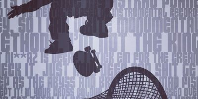 Poisoned Pen Seamlessly Blends Lyrics & Silhouettes in New Series