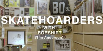 Bobshirt Shows His Memorabilia Collection on SkateHoarders