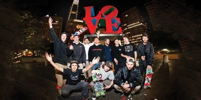 Brian Panebianco Skates Love Park in 'A Regular Ass Video'