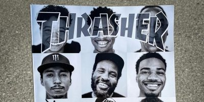 Thrasher Honors Black Skaters With Cover of Latest Issue