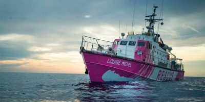 Banksy Releases Statement on Rescue Boat Operation