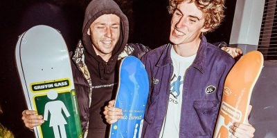 As Expected, Girl Turns Niels Bennett & Griffin Gass Pro