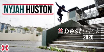 Nyjah Huston Wins Real Street With N.B.D. at Clipper