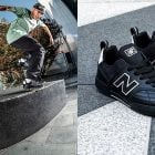 Jack Curtin Intros NB#'s Black Leather 288 Sport in S.F.