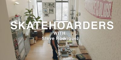 Steve Rodriguez Shares His Collection on Skatehoarders