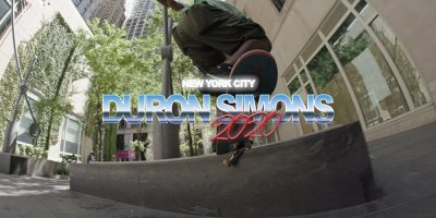 Duron Simons Closes Out 2020 With 2-Minute Video Part