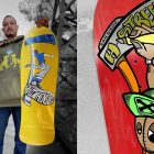 Lenny Rivas Gets a Signature Board From H-Street