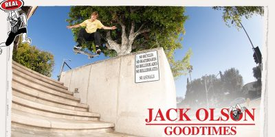 """Jack Olson Gets Backup From the Real Team in """"Goodtimes"""""""