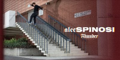 Get Familiar With Alec Spinosi Via Thunder Part